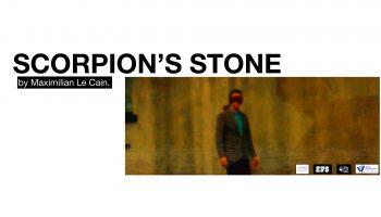 Scorpions Stone Banner